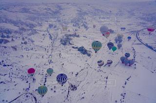 熱気球の写真・画像素材[1773905]