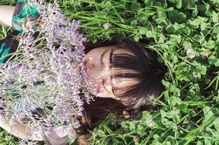 庭の人の写真・画像素材[1223343]