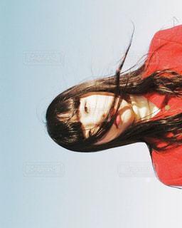 赤い女の写真・画像素材[1735648]
