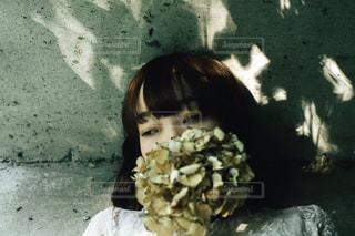 隠し花の写真・画像素材[2301427]