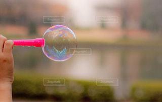 しゃぼん玉の写真・画像素材[1181901]