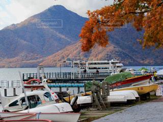中禅寺湖畔の写真・画像素材[1735853]