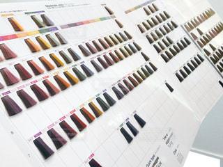 カラーチャートの写真・画像素材[2177488]
