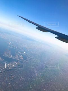 上空からの街の写真・画像素材[1032171]