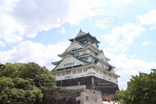 大阪城の写真・画像素材[1032191]