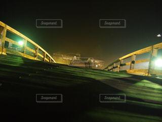 夜の錦帯橋②の写真・画像素材[1032704]
