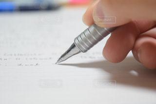 クローズアップシャーペンの写真・画像素材[1032669]
