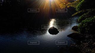 夕日の神秘の写真・画像素材[1033099]