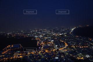 日本三大夜景〈函館〉の写真・画像素材[1033187]