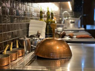 レストランのキッチンの写真・画像素材[2929624]
