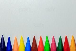 カラフルなクレパスの写真・画像素材[1057566]