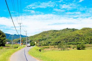 田舎の風景の写真・画像素材[1057816]