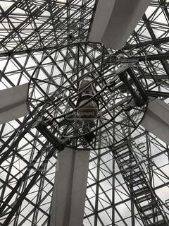 仁摩サンドミュージアム 砂時計の写真・画像素材[1033952]