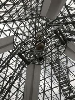 仁摩サンドミュージアム 砂時計の写真・画像素材[1033953]