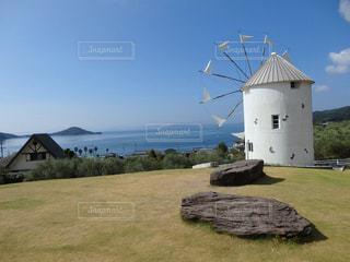風車の写真・画像素材[1034051]
