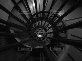 螺旋階段の写真・画像素材[1034139]