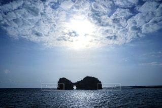 円月島の写真・画像素材[1290757]