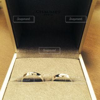 結婚指輪、リアンドゥショーメの写真・画像素材[1068924]