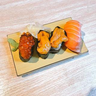 お寿司 うに いくら サーモンの写真・画像素材[1671406]