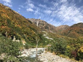 北アルプス登山口の写真・画像素材[1034957]