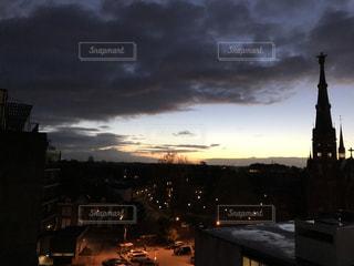オランダの朝の写真・画像素材[1035308]