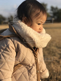 近くに赤ちゃんのアップ - No.1035219