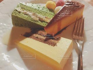 ケーキ盛合せの写真・画像素材[1272012]