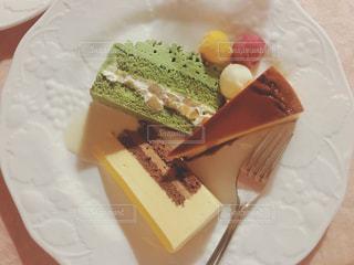 ケーキの盛合せの写真・画像素材[1272013]