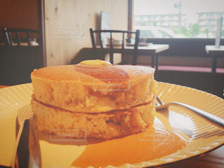 ふわふわパンケーキの写真・画像素材[1305716]