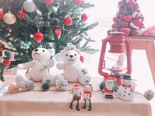 クリスマスでもアウトドア感をの写真・画像素材[1621275]