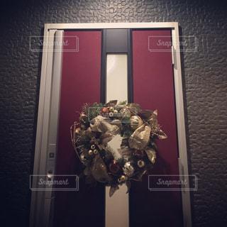クリスマスリースの写真・画像素材[1034538]