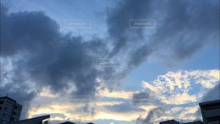 流れ雲の写真・画像素材[2329154]