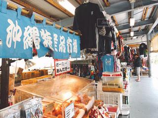 沖縄の土産屋の写真・画像素材[1035309]