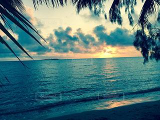 沈む夕日の写真・画像素材[1035010]