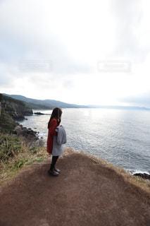 崖の前の写真・画像素材[1070186]