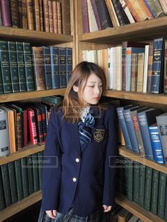 女子高生の写真・画像素材[1156428]