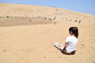 砂丘の写真・画像素材[1168228]