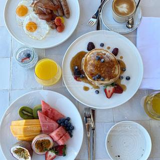 朝食の写真の写真・画像素材[2290754]