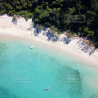 離島をドローン撮影の写真・画像素材[2290757]