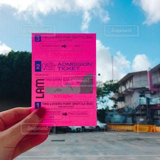 チケットの写真・画像素材[1035912]