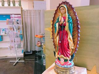 聖母マリア像の写真・画像素材[1073515]