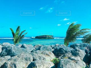 グアムの海の写真・画像素材[1073550]
