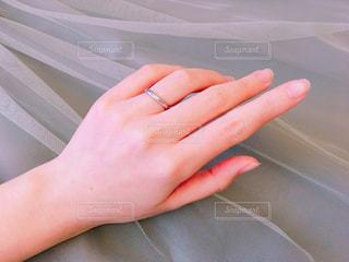 結婚指輪の写真・画像素材[1085021]