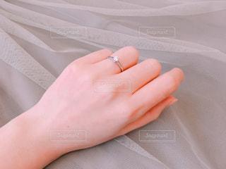 婚約指輪の写真・画像素材[1085101]
