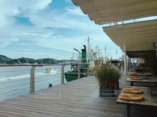 海辺のカフェの写真・画像素材[1420407]