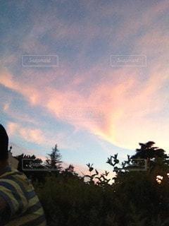 夜空と夜景 - No.78725