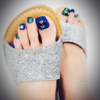 selfie★bijou sandalsの写真・画像素材[1296117]