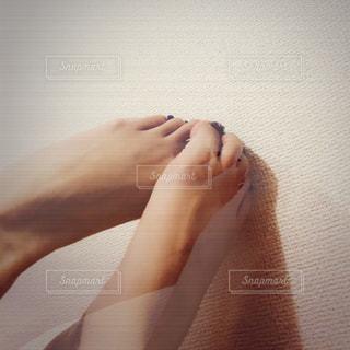 selfie★footの写真・画像素材[1296128]