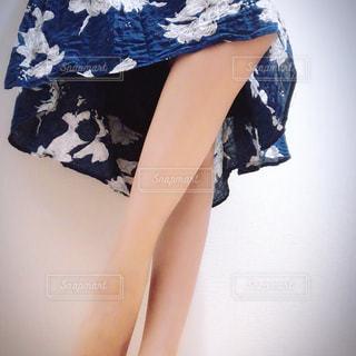 Selfie★Maxi Skirtの写真・画像素材[1391555]