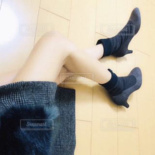 Selfie★Socks bootsの写真・画像素材[1505316]